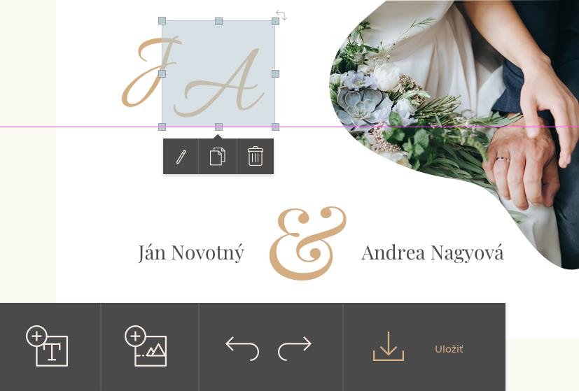 Nový online svadobný editor !