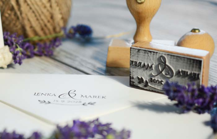 Ako sa vyrábajú svadobné pečiatky?