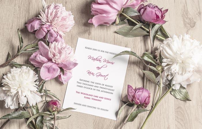 Papier pre svadobné oznámenia